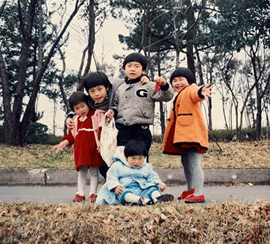 天道清貴幼少期の写真
