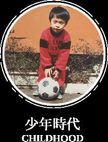 少年時代の写真